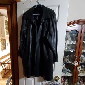 Tiboa Leathers Coat